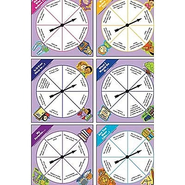 McDonald Publishing® Character Education Spinner Set, Grades 4th - 9th