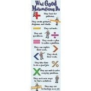 McDonald Publishing® Colossal Poster, What Good Mathematicians Do