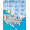 McDonald Publishing® Colossal Poster, States and Capitals