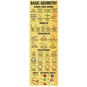 McDonald Publishing® Colossal Poster, Basic Geometry