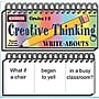McDonald Publishing® Creative Thinking Write-Abouts Booklet,