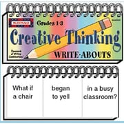 McDonald Publishing® Creative Thinking Write-Abouts Booklet, Grades 1st - 3rd