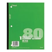 "Mead® Glued Wide Ruled Wireless Neatbook, 10 1/2""(H) x 8""(W)"