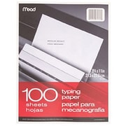 "Mead® 11"" x 8 1/2"" Typing Paper"