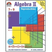 Milliken & Lorenz Educational Press Algebra II Reproducible Book, Grades 7th - 9th