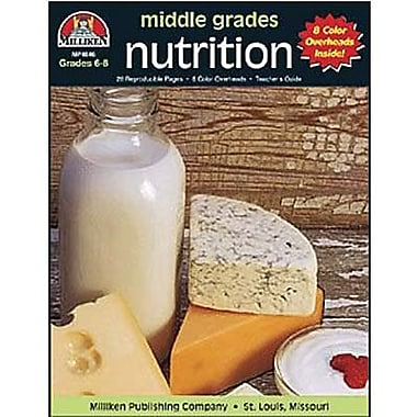Milliken & Lorenz Educational Press® Nutrition Transparency Book, Grades 6th - 8th