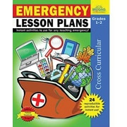 Milliken & Lorenz Educational Press Emergency Lesson Plans Reproducible Book, Grades 1st - 12th