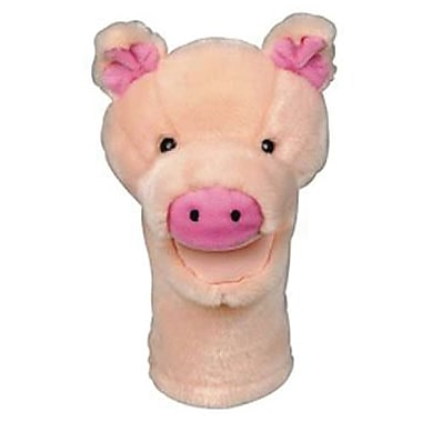 Get Ready Kids® Bigmouth PlushPups Pig Hand Animal Puppets, 12in.