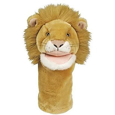 Get Ready Kid's® Bigmouth PlushPups Lion Hand Animal Puppets, 12in.