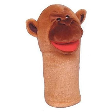 Get Ready Kid's® Bigmouth PlushPups Monkey Hand Animal Puppets, 12in.