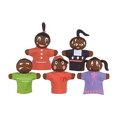 Get Ready Kids® How Am I Feeling, African American Hand Puppets, Grades Pre School - 2nd