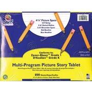 Pacon® D'Nealian™ Zaner-Bloser™ Multi-Program Picture Story Paper, Grades Kindergarten - 1st