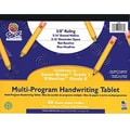 Pacon® Zaner-Bloser™ and D'Nealian™ Multi-Program Tablet Handwriting Paper, Grades K-1st, 40 Sheets