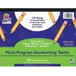 Pacon® Zaner-Bloser™ D'Nealian™ Multi-Program Handwriting Tablet Paper, Grades 1st-2nd, 10 1/2in. x 8in.