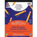 Pacon® Zaner-Bloser™ D'Nealian™ Multi-Program Handwriting Tablet Paper, 8in. x 10 1/2in., 40 Sheets