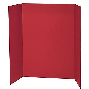 Pacon® Presentation Board, 48in. x 36in., Red