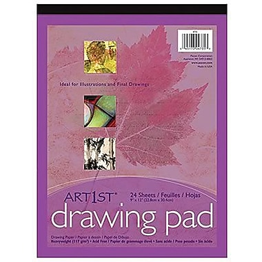 Pacon® Art1st® White Drawing Paper Pad, 12in. x 9in.