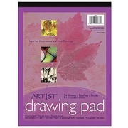 "Pacon® Art1st® White Drawing Paper Pad, 12"" x 9"""