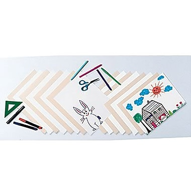Pacon® Lightweight Tagboard, 9in. x 12in., Manila