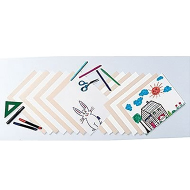 Pacon® Heavyweight Tagboard, 9in. x 12in., White