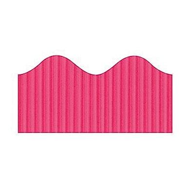 Pacon® Bordette® pre-school - 12th Grades Scalloped Decorative Border, Magenta