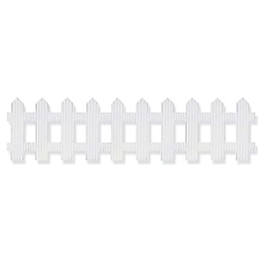 Pacon® Bordette® pre-school - 12th Grades Picket Fence Decorative Border, White