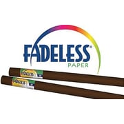 "Pacon® Fadeless® Paper Roll, Brown, 48"" x 12'"