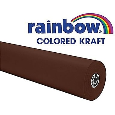 Pacon® Rainbow® 100' x 36in. Colored Kraft Paper Roll, Brown