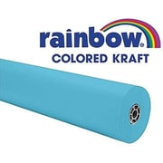 "Pacon® Rainbow® 100' x 36"" Colored Kraft Paper Roll, Sky Blue"