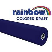 "Pacon® Rainbow® 100' x 36"" Colored Kraft Paper Roll, Dark Blue"
