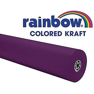 Pacon® Rainbow® 100' x 36in. Colored Kraft Paper Roll, Purple