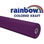 "Pacon® Rainbow® 100' x 36"" Colored Kraft Paper Roll, Purple"