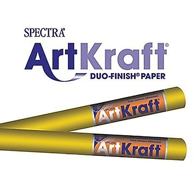 Pacon® Spectra® Art Kraft® Paper Roll, Autumn Gold, 48