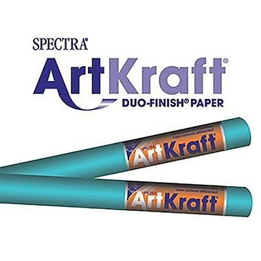 Pacon® Spectra® Art Kraft® Paper Roll, Aqua, 48