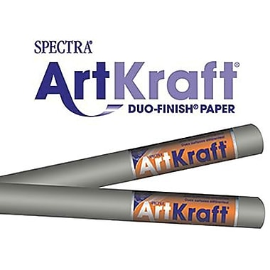 Pacon® Spectra® Art Kraft® Paper Roll, Gray, 48