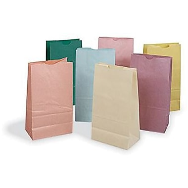 Pacon® Rainbow® 11in. x 6in. Colored Craft Paper Bag, Pastel Color