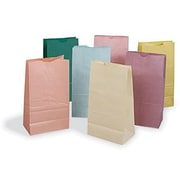 "Pacon® Rainbow® 11"" x 6"" Colored Craft Paper Bag, Pastel Color"