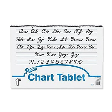 Pacon® Chart Tablet, 1in. Rule, 16in.(H) x 24in.(W)
