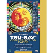 "Pacon Tru-Ray Construction Paper 12"" x 9"", Gold (PAC102997)"