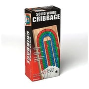 Pressman® Toy Board Game, Solid Wood Cribbage