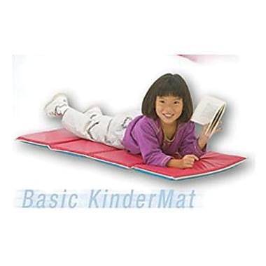 Peerless® Basic Kinder Mat, Red/Blue, 5/8