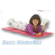 "Peerless® Basic Kinder Mat, Red/Blue, 5/8""(T)"