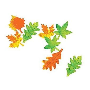 Roylco® 9in. x 7in. Color Diffusing Craft Paper, Leaves Shape