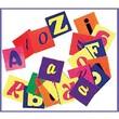"Roylco® Alphabet Pasting Piece, Assorted, 1"" x 1"""