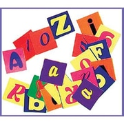 "Roylco® Alphabet Pasting Piece, Assorted, 1"" x 1"""