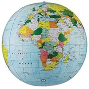 Replogle Globe® Light Blue Political Inflate-A-Globes