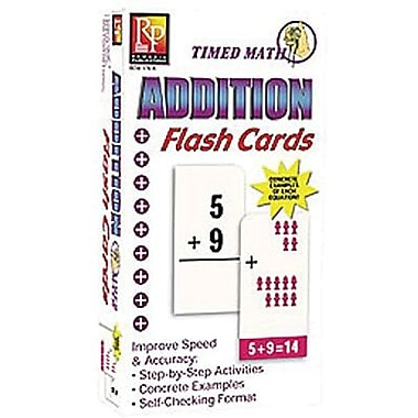 Remedia® Timed Math Flash Card, Addition
