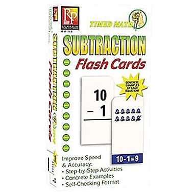 Remedia® Timed Math Flash Cards, 92/Pack