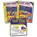 Remedia® Basic Sight Words Flash Card and Activity Book, Grades Kindergarten -2nd