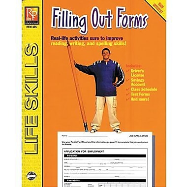 Remedia® Practical Practice Filling Out Forms Book, Grades 4th - High School